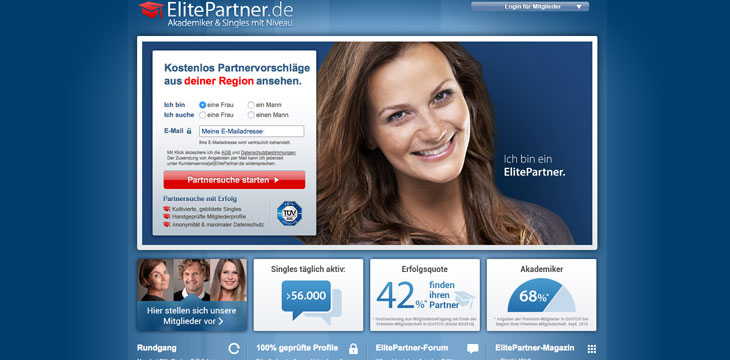 Internet partnervermittlungen test